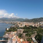 View of sorrento from balcony room 705
