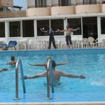 aqua aerobics sessions with a fun twist
