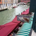  The view from my room at Arlecchino Hotel, Venice, Italy