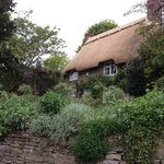 Gorgeous thatched-roof home and garden just down the lane.