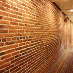  awesome exposed brick hallway