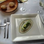 crab, curry, avocado - a refined dining experience