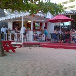 Beach bar, best place to spen happy hour