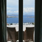 View from our room to the sea