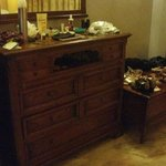 brown furniture in superior/seaview room