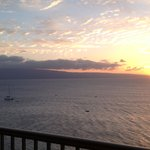 Sunset from 1202 lanai