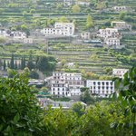 view of hotel from Ravello