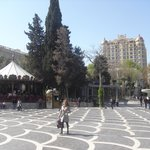 Fountain Square area, Baku