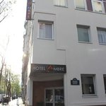 Hotel Ambre - exterior of building (located at intersection of Tolbiac street and Passage Fouber