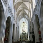 Nave, choir, and altar of Cathedral of Our Lady - Antwerp