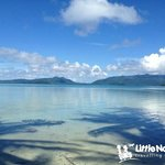 Wonderful waters of Uepi Island Resort