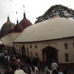 Kamakhya temple at 9am on normal day
