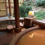 Private hot spring room