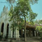 Moon Garden Hall - the Ancient Catholic Church, built in 1846 is crafty restored