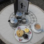 Enjoy A Cream Tea On Our Sun Trap Of A Terrace