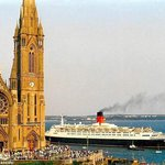 Visit of the QE2 to Cobh