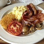 Excellent full English breakfast