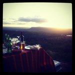 Sundowner in Maanzoni courtesy of Amazing Kenya retreat