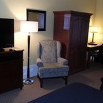 Sofa chair and armoire