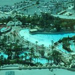 Pools and Beach at Mandalay Bay