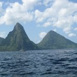 Pitons from Son of Man Tour