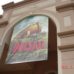  NOAH banner, Sight &amp; Sound Theatre, Strasburg, PA