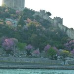 Rumeli Fortress from the boat