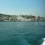 Istanbul new City from the boat