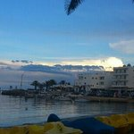 sunset in es cana :)