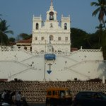 Church in the caital Panjim