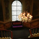 A grand staircase as a memory of the hotel's past (and my childhood when we used to dine at the