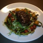 Filet at the downstairs Lounge/Bar!