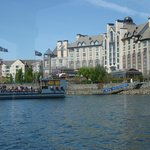 The hotel - pic taken from the water taxi