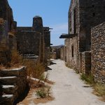 Spinalonga - like a ghost town