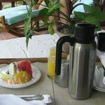 Our coffee room service we started every day with