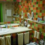 colourful bathroom!