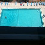 Pool view from 7th floor.