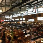 MKE Public Market from the upstairs seating area