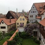 View from our window at the Altes Brauhaus