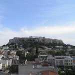 Hotel Plaka, Athens, view from the roof terrace