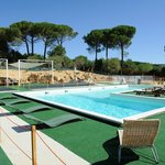 La piscina con idromassaggio -  Swimming pool