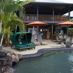 Anniversary Suite (upstairs) and Lava Pool Deck