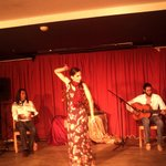 saturday night local act - flamenco,incredible !