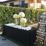 Reception Card Table