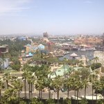 View of California Adventure from our room