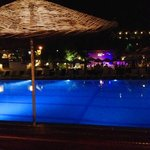 Pool Bar At Night