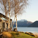 Photo de Whare Kea Lodge & Chalet