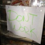  Do Not Work Sign on Vending Machine