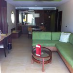Living room / kitchenette.  Master Suite Ocean Front Club Premium.  Building 6, 3rd floor.