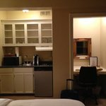 kitchenette and office nook